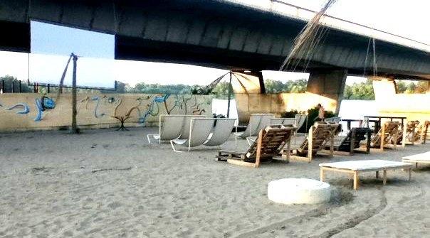 В парке Дружбы народов откроется кинотеатр на пляже