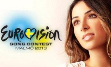 Злата Огневич с великаном вышли в финал Евровидения-2013