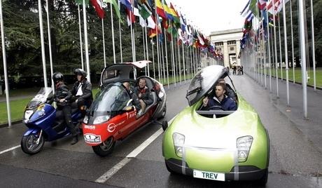 В центре Киева пройдут гонки на электромобилях