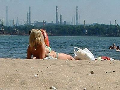 Киевские пляжи еще не готовы к купальному сезону