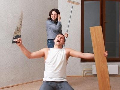 Мелочный ремонт в квартире следует выполнять комплексно
