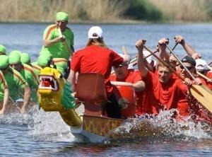 25 и 26 мая по Днепру проплывут лодки-драконы