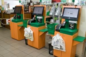 В супермаркетах теперь можно рассчитаться за товары без кассира