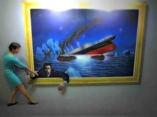 Киевлян приглашают на интерактивную 3D-живопись
