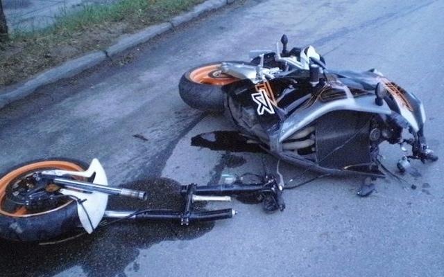 В Киеве на мотоцикле разбился студент столичного ВУЗа