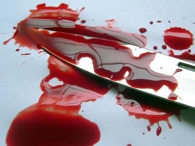 Киевлянка изрезала собственного сына за праздничным столом