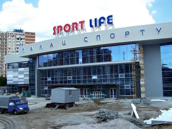 На Троещине в конце августа откроется дворец спорта