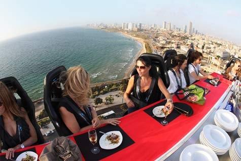 В Киеве можно будет пообедать над землей
