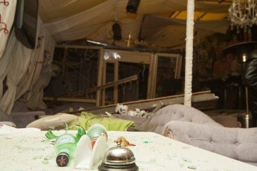 В киевском ресторане взорвалась бутылка с серной кислотой