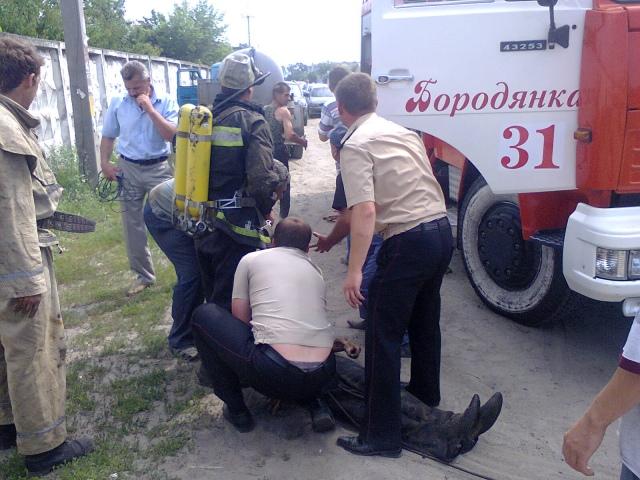 На Киевщине слесарь отравился газовыми испарениями