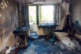 Киевлянка полностью сгорела в пожаре