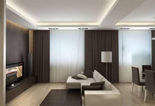 Создание интерьера в гостиной
