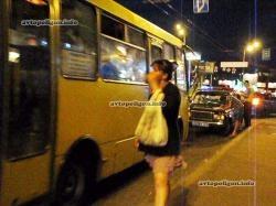 """Водитель маршрутки """"потерял"""" пассажирку"""
