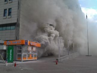 В Киеве может сгореть любой киоск