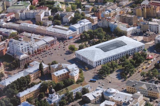 Власть вместо реконструкции Гостиного двора затеяла перепланировать Подол - Активисты