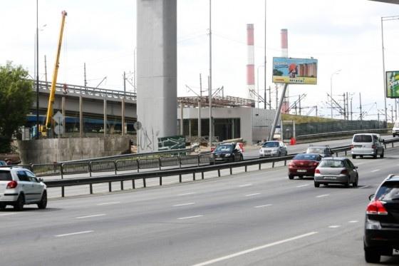 Под  Дарницким мостом строится взрывоопасный объект