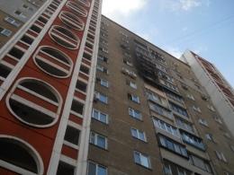 В Киеве горела 16-этажка