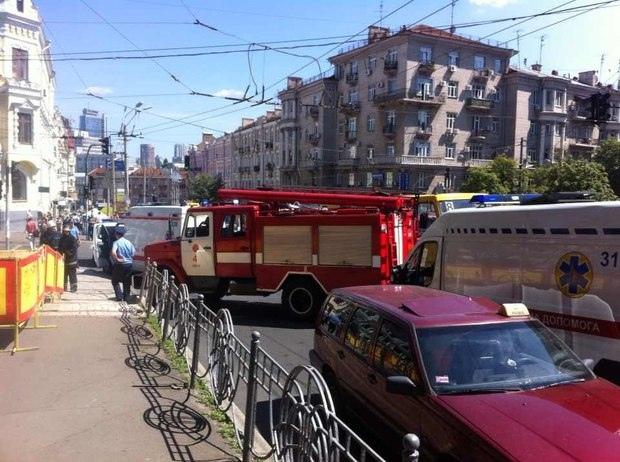 В парке им. Т.Шевченко прогремел взрыв