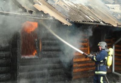 В Киеве горела сауна