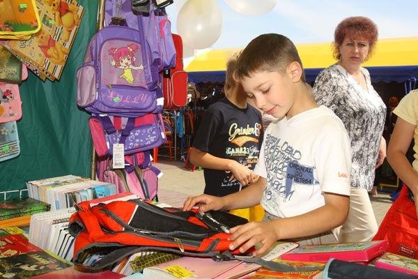 В столице откроются школьные ярмарки