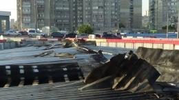 """Возле метро """"Харьковская"""" сгорели торговые киоски"""
