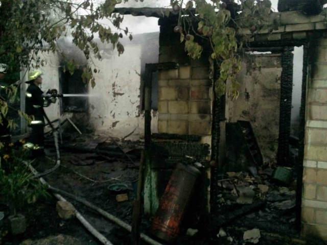 На Киевщине сгорел частный дом. Погиб мужчина