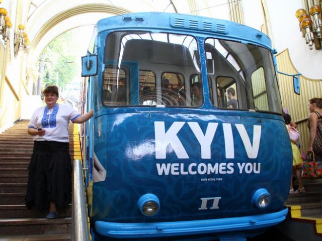 Киевский фуникулер капитально отремонтируют