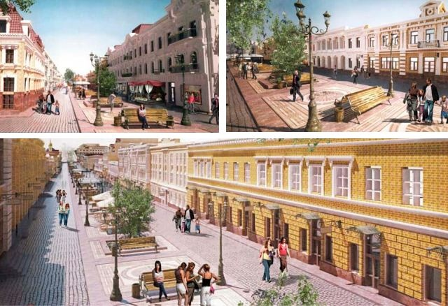 Улицу Сагайдачного подарят пешеходам