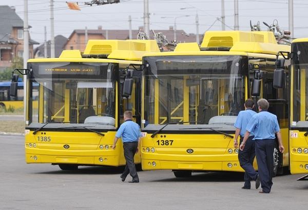 В Киеве стало больше троллейбусов