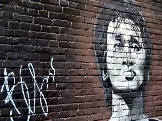 В Киеве появилась стена Виктора Цоя