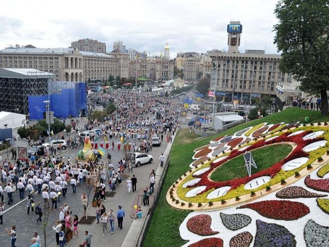 В КГГА посчитали, сколько людей приняло участие в Дне независимости
