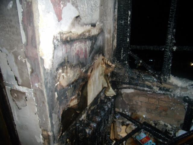 В Голосеевском районе горел детский садик