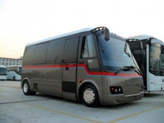 По Киеву поедут автобусы на батарейках
