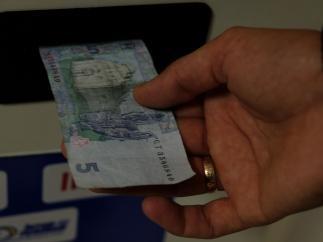 Платежные терминалы принимают фальшивые гривны