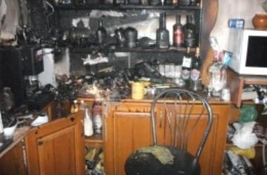 В киевском кафе был пожар