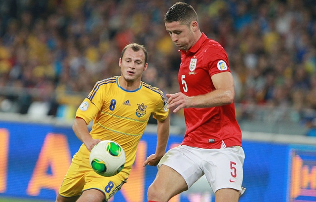 Сборная Украины в Киеве сыграла в ничью со сборной Англией