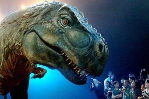 В Киев привезли аргентинских динозавров