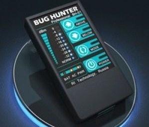 Обнаружение жучков и камер с помощью устройства BugHunter Professional BH-02