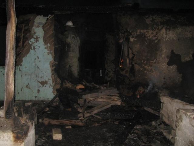 На Киевщине во время пожара погиб двухлетний ребенок
