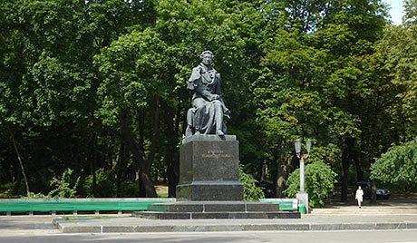 В парке имени Пушкина установят аттракционы