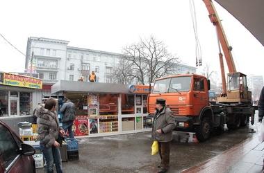 Киевские МАФы следует выжигать огнеметами - чиновник