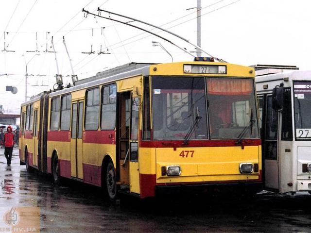 Троллейбус № 27 изменил маршрут