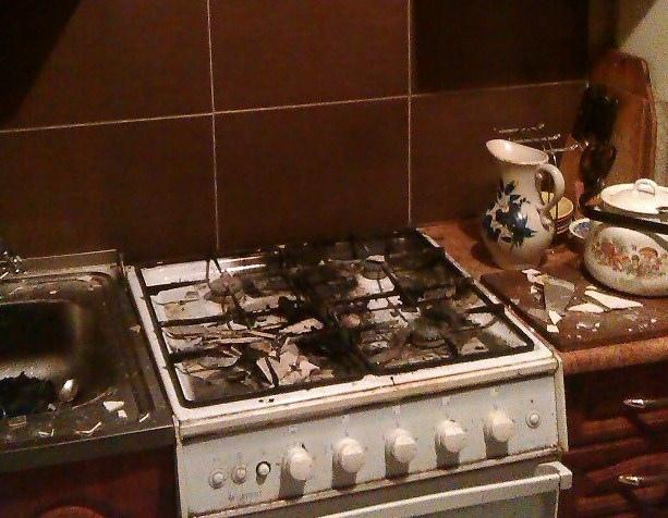 Из-за бабушки в огне едва не погиб 8-летний мальчик