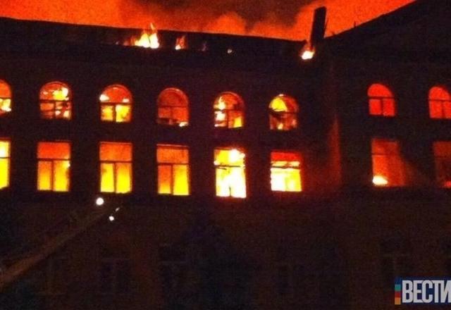В Киеве горели аграрии