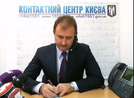 Попов посоветовал киевлянам дождаться тепла уже в следующем году