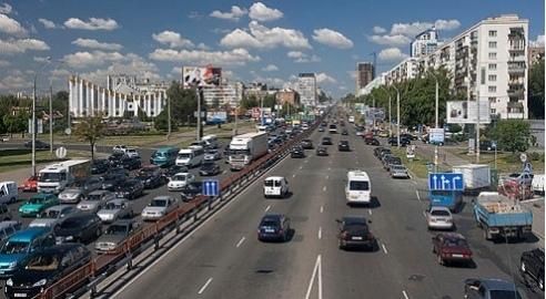 С 1 по 22 ноября на проспекте Победы ограничат движение до двух полос