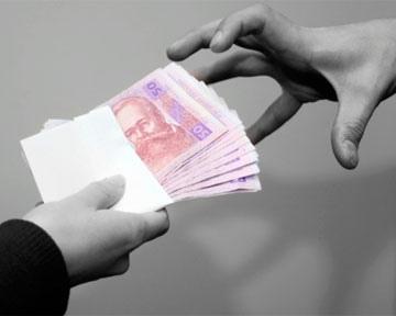 Чиновник ГосЧС Украины получил взятку в размере 10 тыс. грн