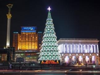 В Киеве вокруг елки на Майдане будет кататься Дед Мороз