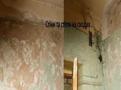 Жильцы киевского общежития целый год живут с грибком и плесенью