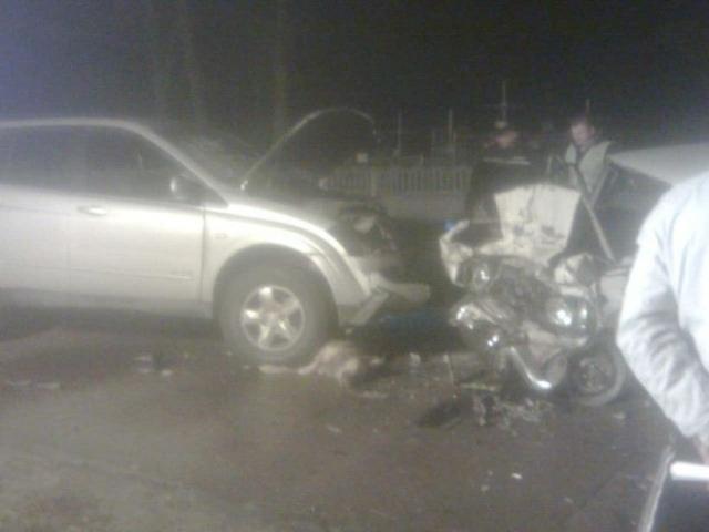 ДТП под Киевом: водитель погиб, ребенок в больнице